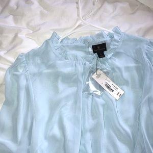 Pretty blue blouse!
